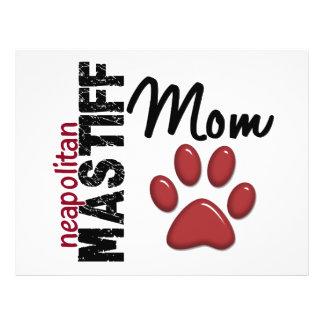 Mamã napolitana 2 do Mastiff Panfletos Personalizado