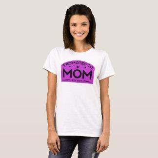 Mamã nova 2017 camiseta
