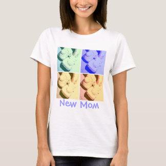 Mamã nova/dia das mães camiseta