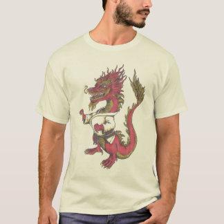 Mamã psicótico do judo--Dragão Camiseta