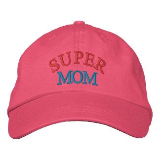 Mamã super boné bordado
