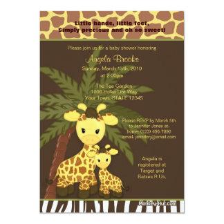 Mamães da selva do safari do convite do chá de
