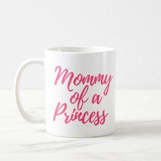 Mamães de uma princesa Caneca