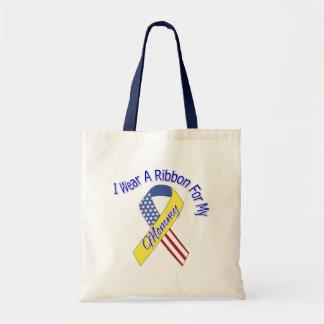 Mamães - eu visto um patriótico militar da fita bolsa