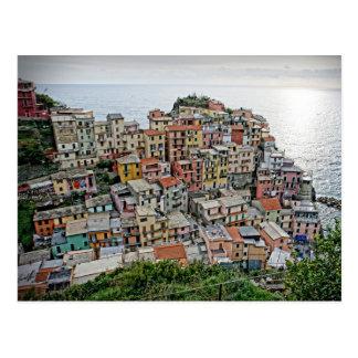 Manarola - o Cinque Terre - cartão de Italia