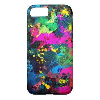 manchas coloridas capa iPhone 7
