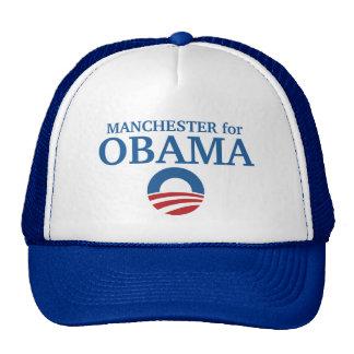 MANCHESTER para o costume de Obama sua cidade pers Boné