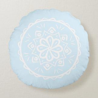 Mandala ártica almofada redonda