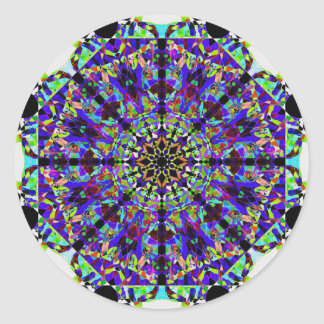 Mandala colorida de Mosaïc Adesivo