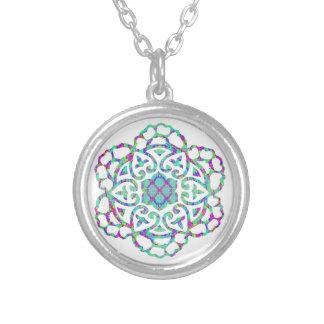 Mandala da boa sorte, charmas afortunados bijuterias personalizadas