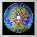 Mandala da Lua cheia Poster