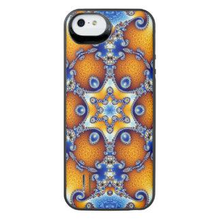 Mandala da vida do oceano capa carregador para iPhone SE/5/5s