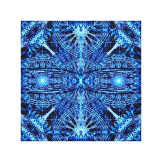 Mandala de cristal da dimensão impressão em tela