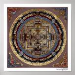 Mandala de Kalachakra um poster