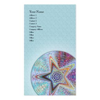 Mandala de Starquake • Cartão de visita vertical