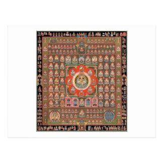 Mandala de Taizokai Cartão Postal
