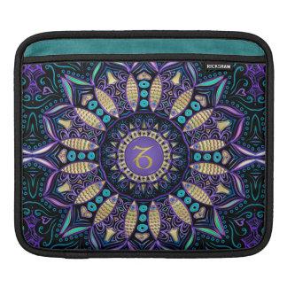 Mandala do Capricórnio do sinal do zodíaco Bolsa Para iPad