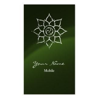 Mandala do Grunge Cartões De Visitas