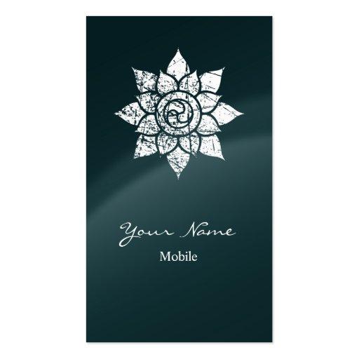 Mandala do Grunge Cartão De Visita