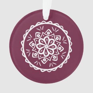 Mandala do Mulberry Ornamento