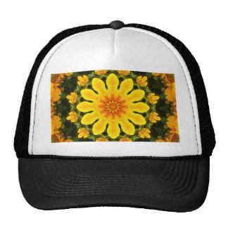 Mandala floral, papoila californiana boné