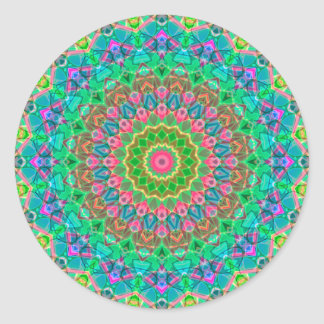 Mandala geométrica G18 da etiqueta
