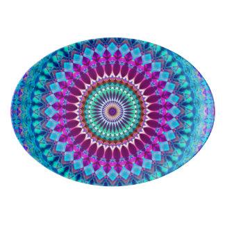 Mandala geométrica G382 da bandeja