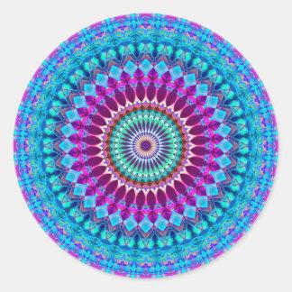Mandala geométrica G382 da etiqueta