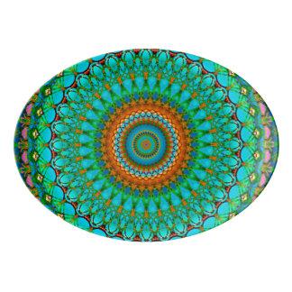 Mandala geométrica G388 da bandeja