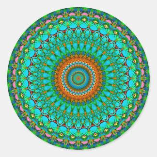 Mandala geométrica G388 da etiqueta