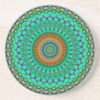 Mandala geométrica G388 da mandala da porta copos