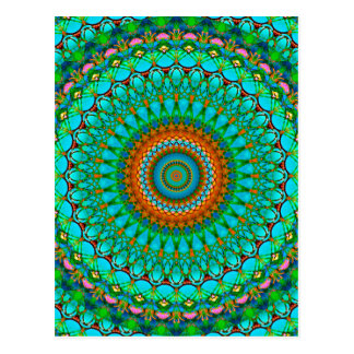 Mandala geométrica G388 do cartão