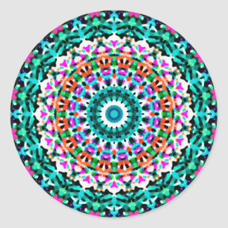 Mandala geométrica G405 da etiqueta