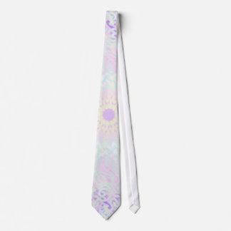 Mandala Pastel do amor macio (grande) Gravata