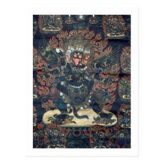 Mandala (pergaminho pintado) cartão postal