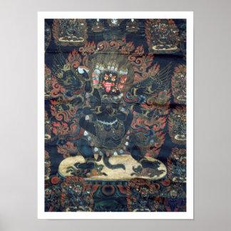 Mandala (pergaminho pintado) poster