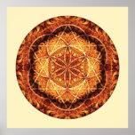 Mandala sagrado 3 da geometria impressão