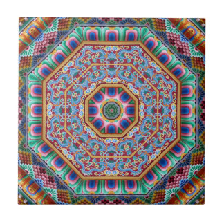 mandala sagrado colorida