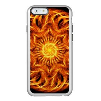 Mandala santamente do fogo capa incipio feather® shine para iPhone 6