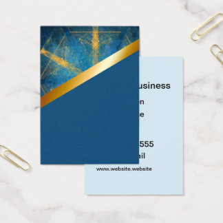 Mandala tribal e cartão médio do azul 10