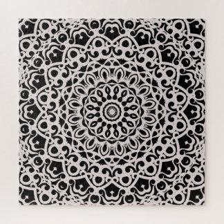 Mandala tribal G385 da mandala do quebra-cabeça