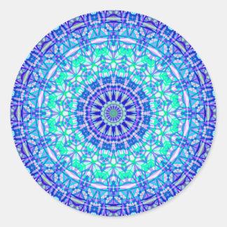 Mandala tribal G389 da etiqueta