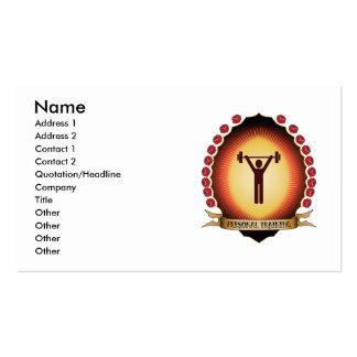 Mandorla de formação pessoal cartão de visita