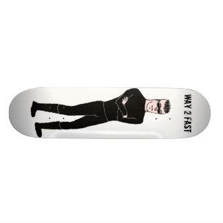 Maneira 2 rapidamente shape de skate 20,6cm