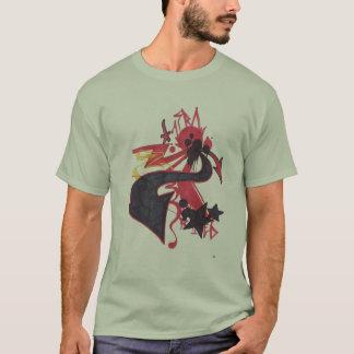 Maneira abstrata camiseta