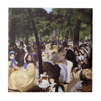 Manet: Música no jardim de Tuileries