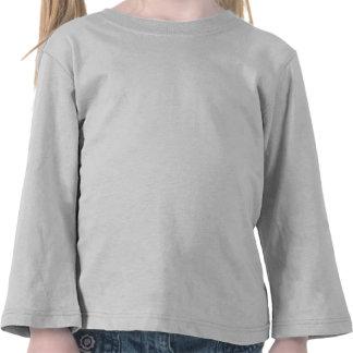 Manga Longa para Crianças 4 Anos Personalizada T-shirt