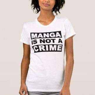 Manga não é um T das senhoras do crime T-shirt