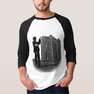 Manga Raglan 3/4 City Urban Camiseta