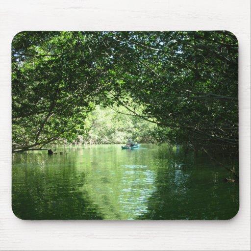 Manguezais que Kayaking Mousepad
